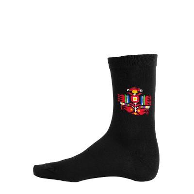 Мъжки памучни чорапи с шевица