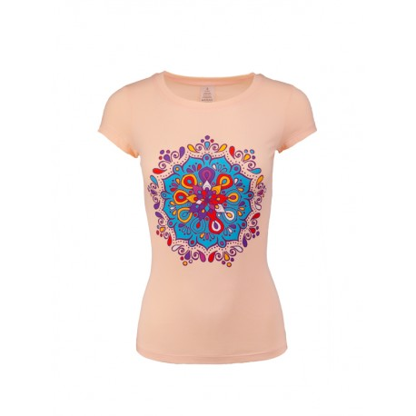 "Lady`s blouse with print ""Mandala"""