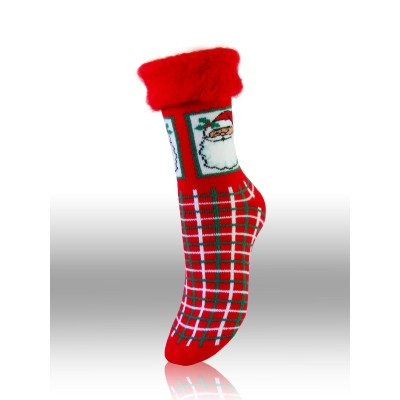 Men`s Christmas acrylic socks