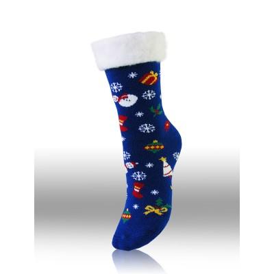 Ladies`Christmas acrylic socks