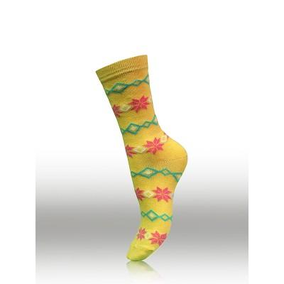 Дамски памучни чорапи