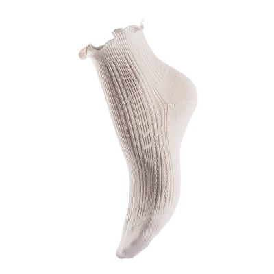 Ladies` bamboo socks - half shaft