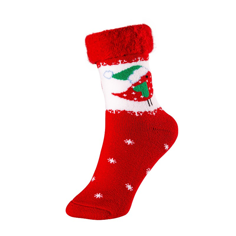 Kids Christmas acrylic socks