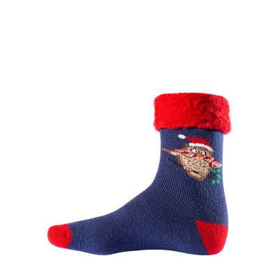 Men`s Christmas acrylic socks