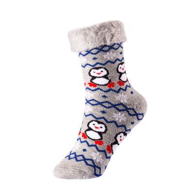 Kids`Christmas acrylic socks